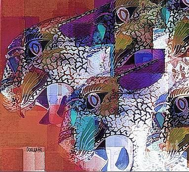 Leopards by Dorlea Ho