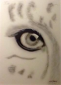 Leopard's eye by Robert Monk