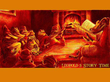 Leopold's Storytime by Martin Williams