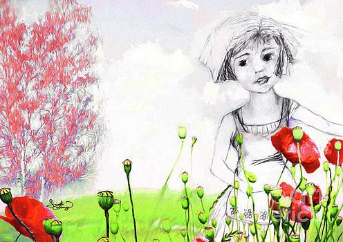 Ginette Callaway - Leora in her Garden