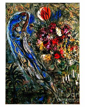 Marc Chagall - Les Amoureux