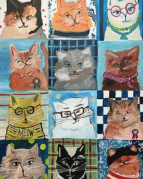 Les Chats by Mindy Carpenter