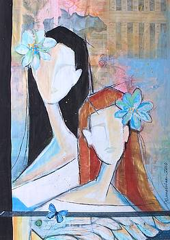 Les demoiselles by Johanna Virtanen