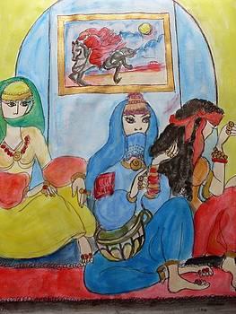 Les Femmes D Alger by Elena Buftea