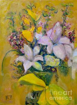 Les Fleurs de Mai by Karen Francis