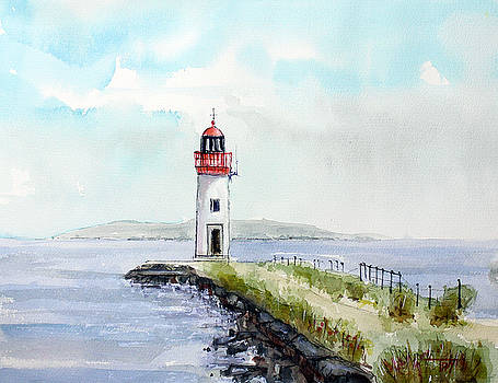 Les Onglous Lighthouse by Tim Ross