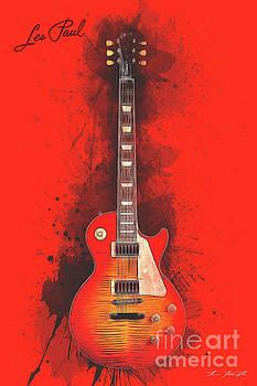 Les Paul Guitar by Tim Wemple
