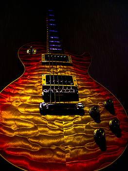 Les Paul Quilt Top Spotlight Series by Guitar Wacky