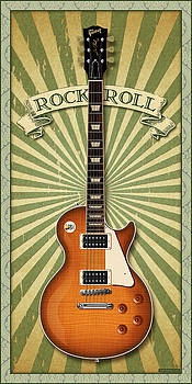 Les Paul Rock and Roll by WB Johnston