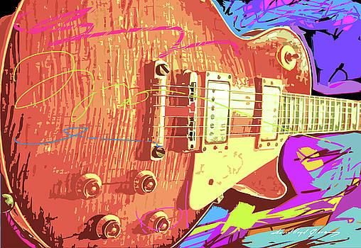 David Lloyd Glover - Les Paul Sunburst