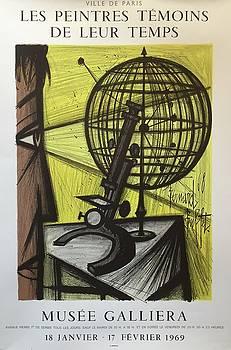 Les Peintres Temoins de Leur Temps 1969 French Exhibition Poster by Bernard Buffet