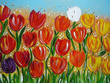 Les tulipes - The tulips by Gioia Albano