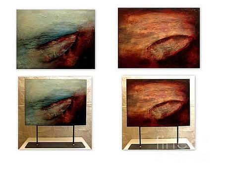 Les Vieilles Barques by Carmelle Dorion