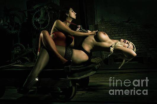Lesbian Lovers No. IV by Ingo Klughardt