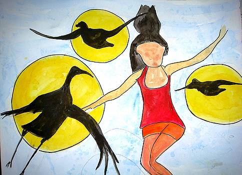 Let me be free and fly by Sonali Singh