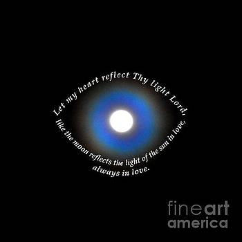 Let My Heart Reflect Thy Light 1 by Agnieszka Ledwon