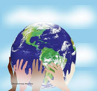 Let Us All Join Hands Around the World by Michael Chatman