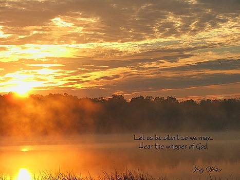 Let Us Be Silent by Judy  Waller