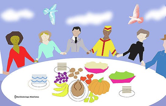Let us All Join Hands around The Table Of Life by Michael Chatman
