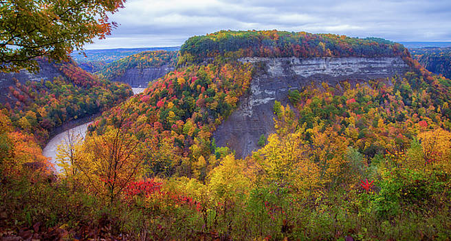 Letchworth Great Bend by Mark Papke