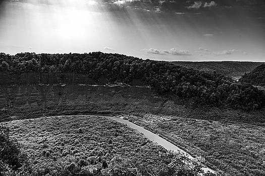 Letchworth Park in Black and White by Tim Buisman