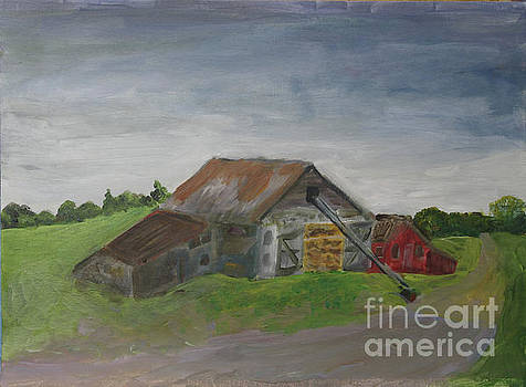 Letournneau Farm Barn by Donna Walsh