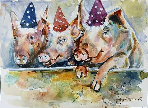 Let's Have a Piggy Party by P Maure Bausch