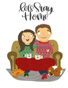 Let's Stay Home by Nicole Wilson