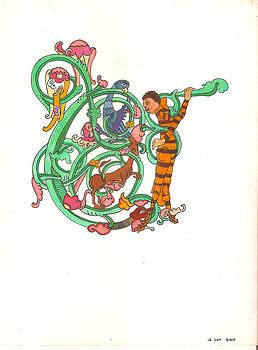 Letter C  by Umesh UV
