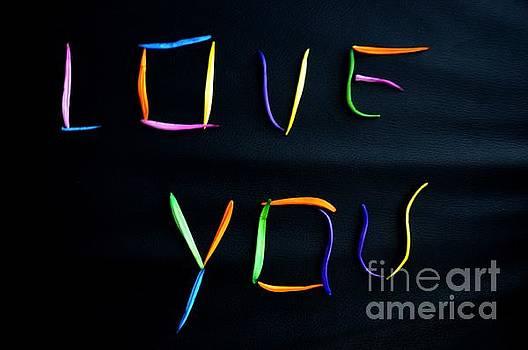Letter Love You by Akshay Thaker