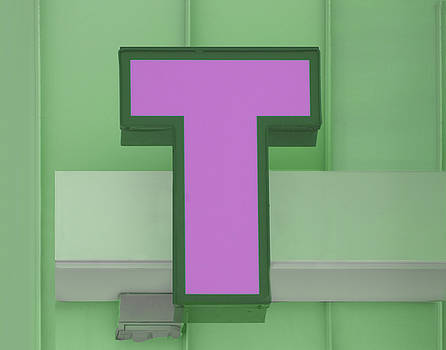 Nikolyn McDonald - Letter T - Pink and Green