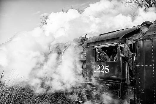Pere Marquette Letting off Steam by Gej Jones