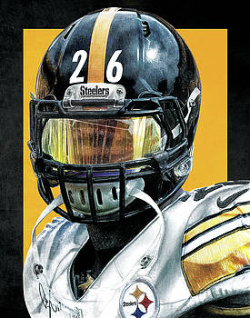 LeVeon Bell by Bobby Shaw