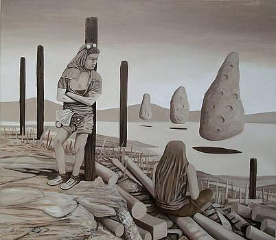 Levitation by Enrique Alcaraz