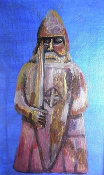 Lewis chessmen by Patricia Hovey