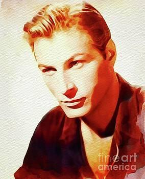 John Springfield - Lex Barker, Vintage Movie Star