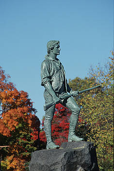 John Clark - Lexington Minuteman in Autumn