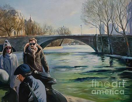 l'hiver a Paris  by Lin Petershagen