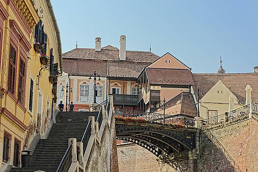 Liars Bridge Sibiu Romania by Adrian Bud