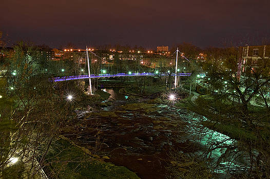 Liberty Bridge and Reedy River by Steve Shockley