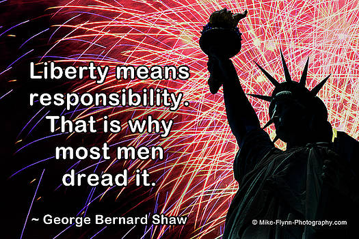 Liberty Means Responsibility by Mike Flynn