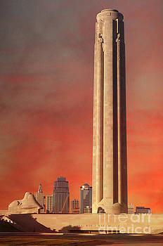 Liberty Memorial Monument - National World War 1 Museum by L Wright