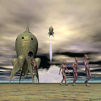 Walter Oliver Neal - Taking Liberty On Planet Zanusthrya