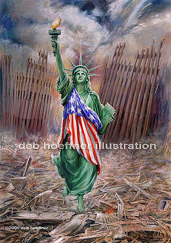 Liberty Rising by Deb Hoeffner