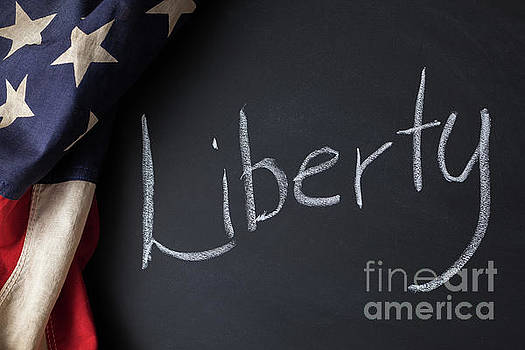 Liberty Sign by Leslie Banks