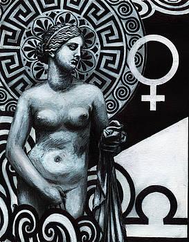 Libra Aphrodite Zodiac by Stephen Humphries