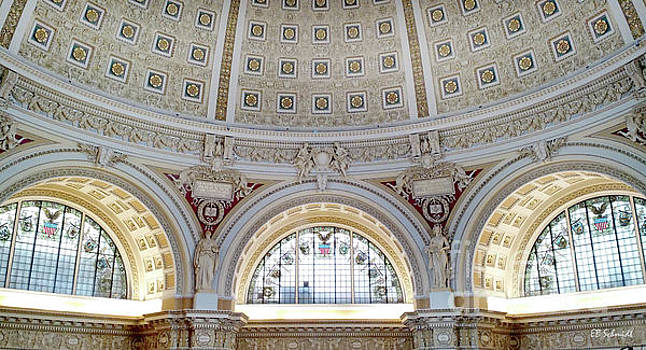 Library of Congress 1 by E B Schmidt