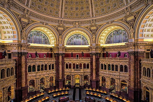 Library of Congress by Andrew Soundarajan