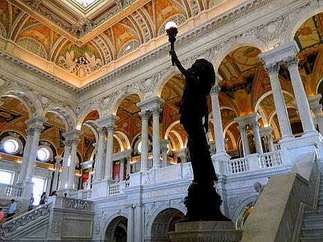 Library of Congress - Interior by Arlane Crump