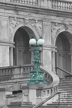 Library of Congress Lamppost by E B Schmidt